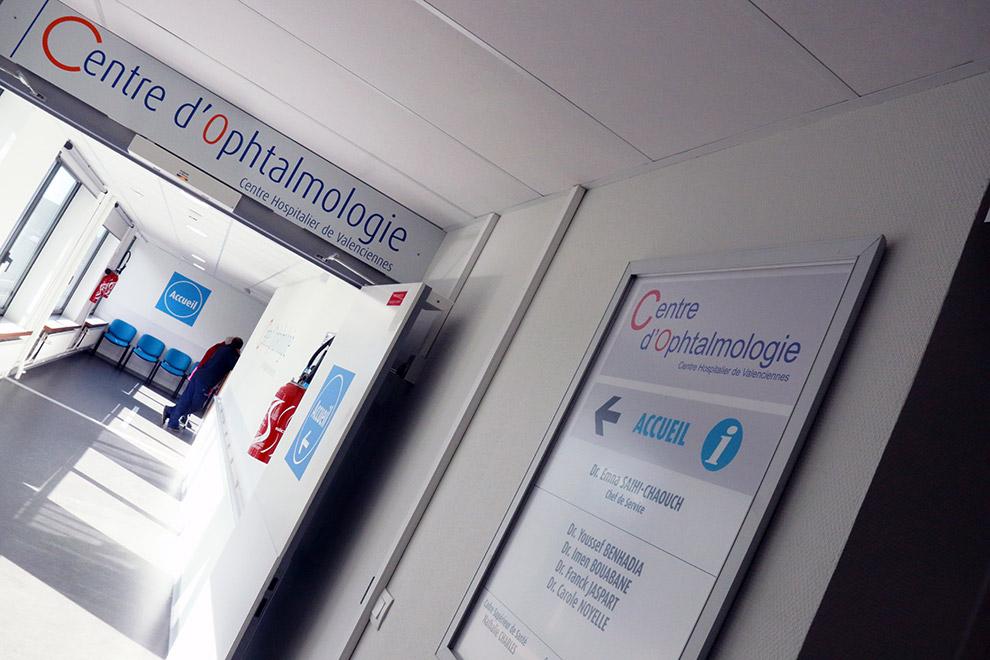 Ouverture du Centre d'ophtalmologie du CHV